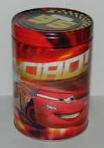 Walt Disney's Cars 2 Large Round Illustrated Tin Coin Bank Style B, NEW ... - $9.74