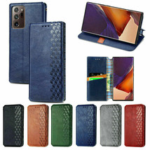 Leather Wallet Magnetic Flip cover  Samsung Galaxy S21+ S21 S20FE A71 A51 A20 - $55.00