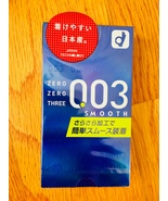 Okamoto 003 Smooth Condom 0.03mm Ultra Thin 10pcs/pack Made in Japen(US ... - $14.89