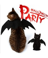 2018 new cool bat wings halloween pet decoration costume party dog cat c... - €5,32 EUR