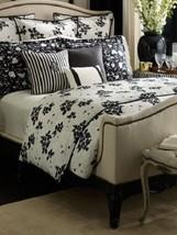Ralph Lauren PORT PALACE 8P King Comforter Set RARE Black White - $581.95