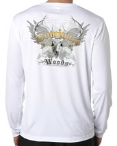 Bow hunter long sleeve t shirt microfiber dominate the woods 100% poly - $29.69+