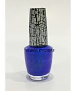 OPI Nail Lacquer BLUE SHATTER 0.5oz **NEW** - $12.87