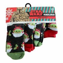 Star Wars Baby Yoda Family Fun Socks Christmas Men Women Kid Toddler 4 P... - $15.95