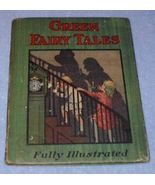Whitman Hard Cover Green Fairy Tales Book - $8.95