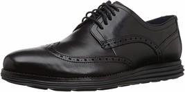 Mens Cole Haan W-Width Sneaker - Black Leather, Size 9.5 - $139.99
