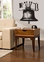 Liberty Bell Vinyl Wall Sticker Decal 28 in w x 38 in h - $34.99