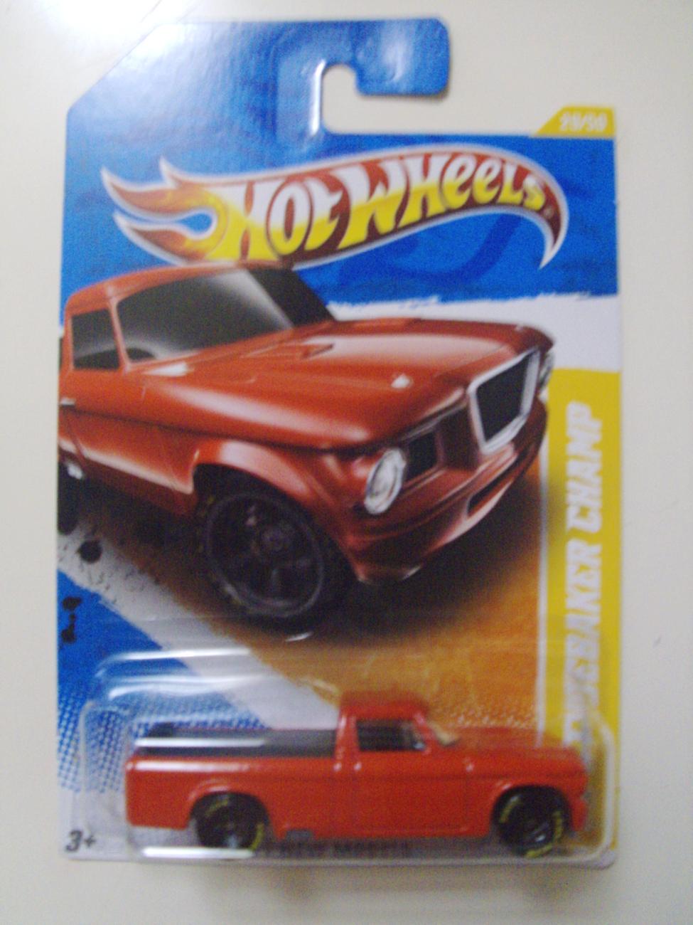 2011 Hot Wheels New Models '63 Studebaker Champ truck car - New