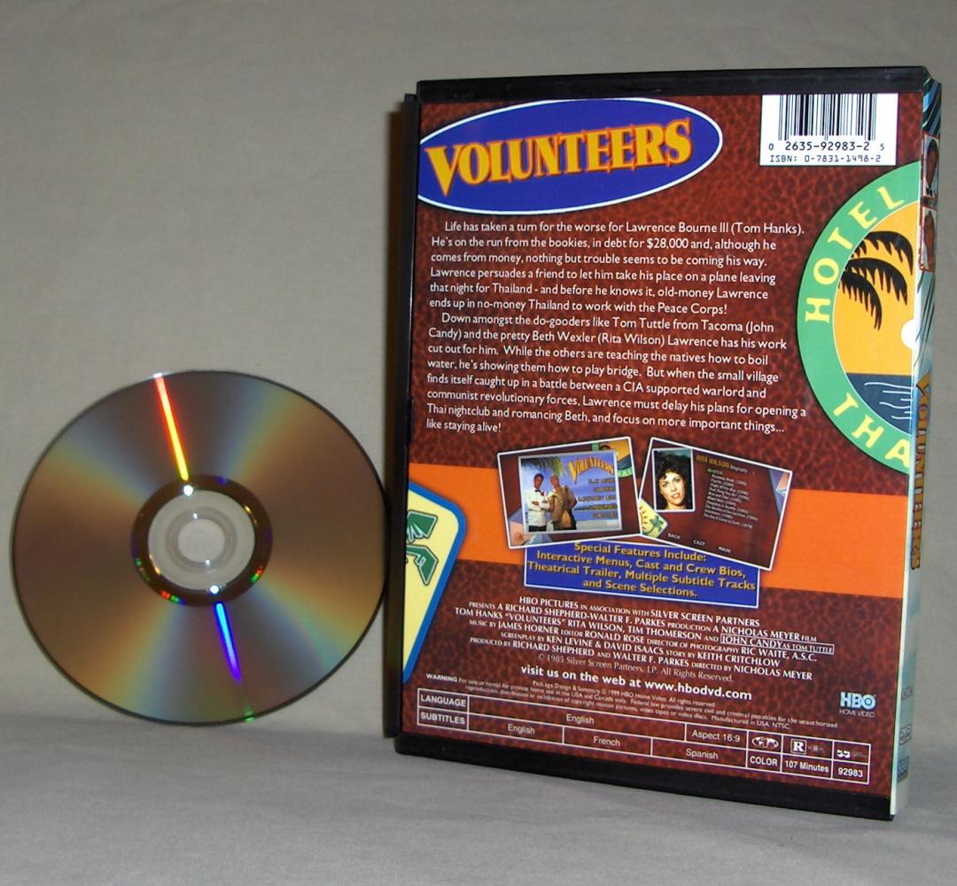 Tom Hanks  Volunteers  DVD