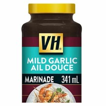 VH Mild Garlic Cooking Sauce LARGE Size 341ml / 11.5oz- From Canada FRESH! - $8.86