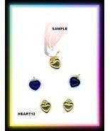 Valentines HEARTS Nail Art Dangles .. Rhinestones #12 - $5.81