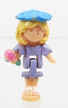 1994 Vintage Polly Pocket Dolls RARE Flower Surprise Ring - Polly Bluebi... - $10.00