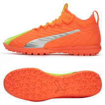 Puma ONE 20.3 OST TT Football Boots Shoes Soccer Cleats Orange 10596401 - $94.99