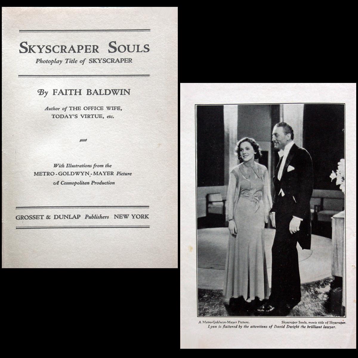 1932 Skyscraper Souls Photoplay Maureen O'Sullivan