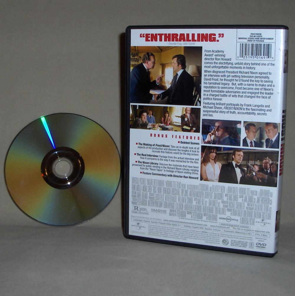 Frank Langella  Frost Nixon   DVD