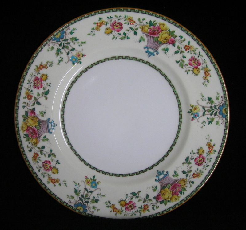 Primary image for Vintage Gorgeous Wedgwood Killarney W1212 Dinner Plate