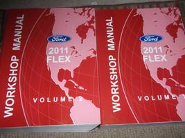 2011 Ford Flex Service Shop Repair Workshop Manual Set Factory Oem - $108.85