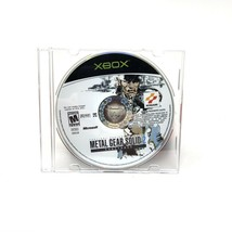 Metal Gear Solid 2 Substance Microsoft Xbox 2002 Disc Only Tested image 1