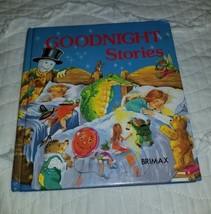 """Vintage BRIMAX book """"Goodnight Stories"""" 1982 - $18.69"""