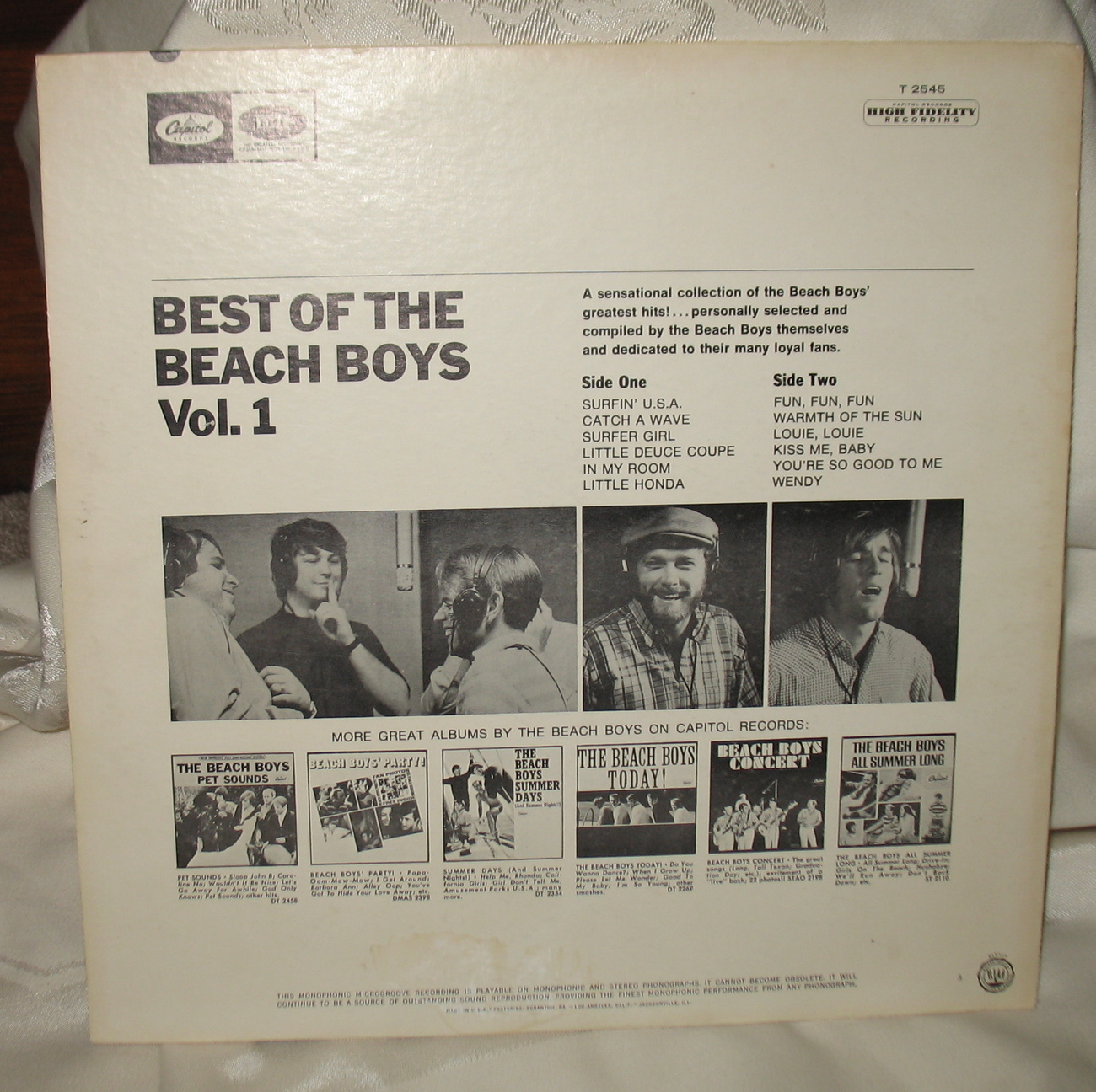 Best of the Beach Boys High Fidelity T2545 Surfin' U.S.A.