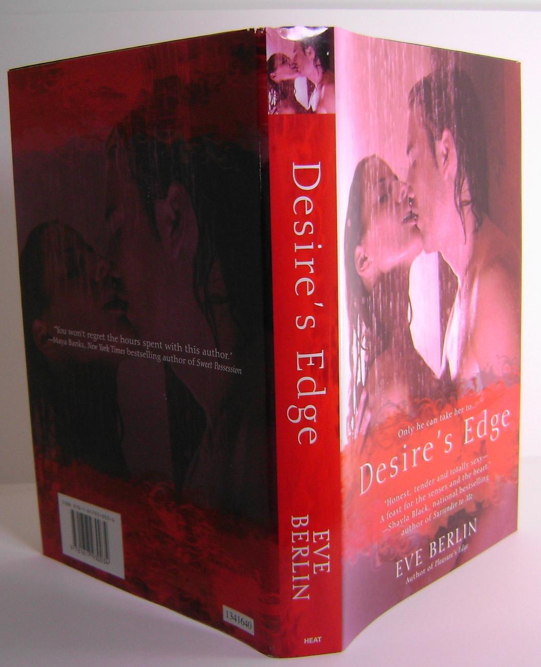 Desires Edge By Eve Berlin Erotica Romance BCE HC