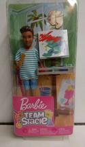 Barbie-Team Stacie-Art Class Exclusive Playset w/Boy Doll & Accessories NEW - $24.74
