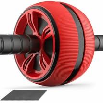 ABS Abdominal Roller Exercise Wheel Fitness Equipment Mute Roller For Ar... - $29.69+