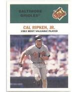 2000-Fleer Tradition-Cal Ripken-Single Baseball Card-3 - $7.50