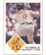 2000-Fleer Tradition-Cal Ripken-Single Baseball Card-4 - $7.50