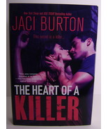 Jace Burton The Heart Of A Killer Suspense Romance BCE HC - $7.00