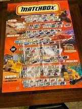 "MATCHBOX COLLECTORS 1999  WALL POSTER ( 36"" x 26"" ) - $20.00"