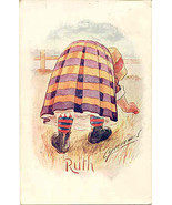 Ruth artist  Cynicus of Scotland 1906 Vintage Post Card - $6.00