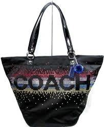 Primary image for COACH Rhinestone Tote NWT 17144