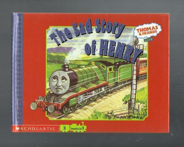 Thomas & Friends Club, 2 in 1 book, Hardcover 2001, Like New