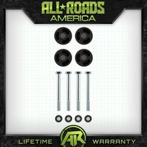 """Fits 97-06 Jeep Wrangler TJ 3"""" Inch Delrin Bump Stop Extender Kit 4X2 4X4 - $26.40"""