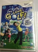 We Love Golf Nintendo Wii, 2008 NEW SEALED PACKAGE - $12.13