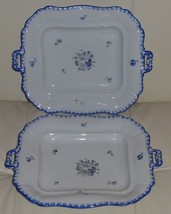 2 ANTIQUE BOHEMIA POTTERY TRAYS - $199.00