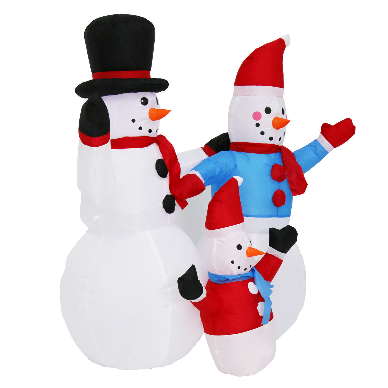 Christmas Yard Inflatable Snowman Family Air and 13 similar items