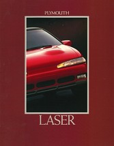 1992 Plymouth LASER sales brochure catalog US 92 RS TURBO - $8.00