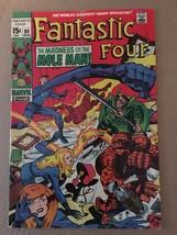 Fantastic Four #89 Marvel Comic Book 1969 FN 6.0 Condition Silver Age Mole Man - $13.49