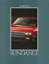 1992 Plymouth SUNDANCE sales brochure catalog US 92 AMERICA - $6.00