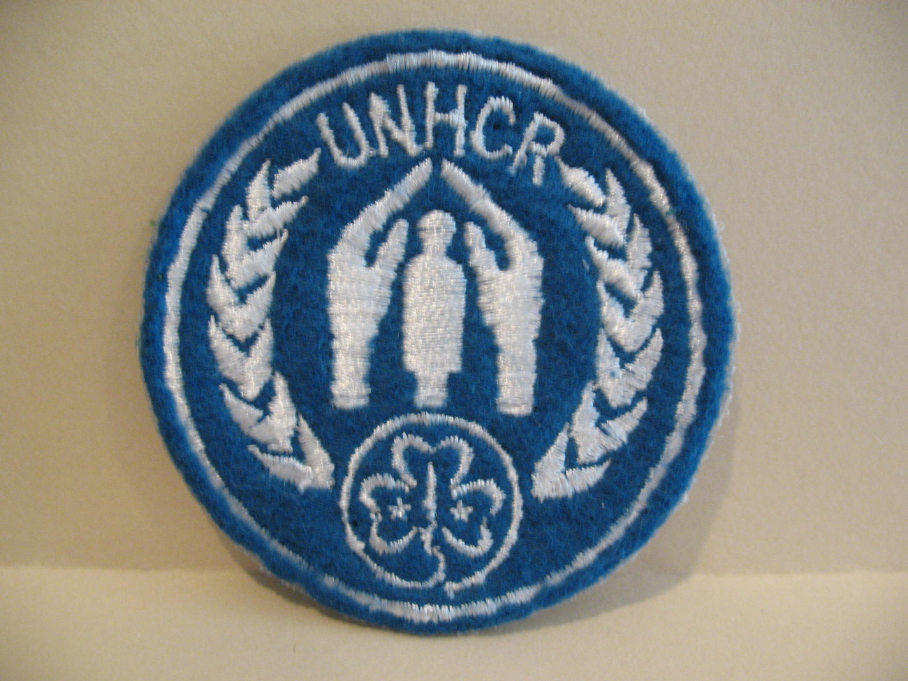 UNHCR Girl Guides Patch Crest Badge Souvenir Collectible