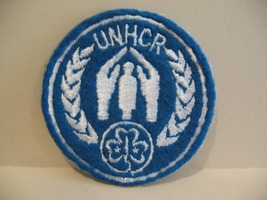 UNHCR Girl Guides Patch Crest Badge Souvenir Collectible - $5.99