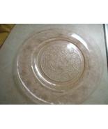 Depression Glass Pink Plate - $37.00