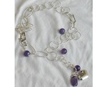 Amethyst silver necklace thumb155 crop