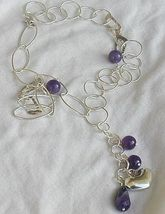 Amethyst silver necklace 2 thumb200