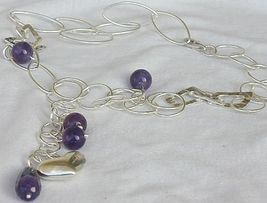 Amethyst silver necklace 4 thumb200