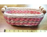 Pink woven basket new  1 thumb155 crop