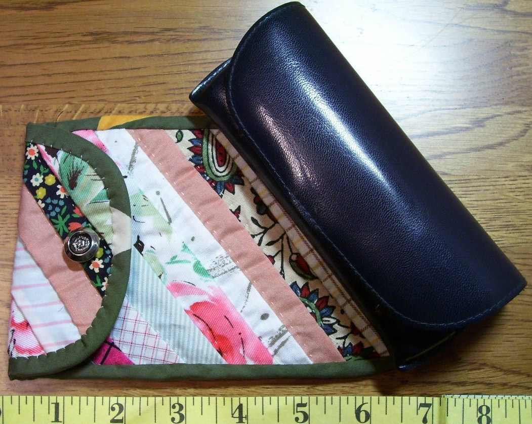 Beautiful Handmade Glasses Case Holder Colorful Wow!