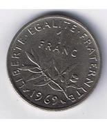 1969 FRANCE 1 Franc - €1,33 EUR